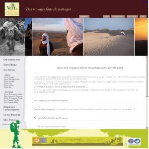 site vert de sable